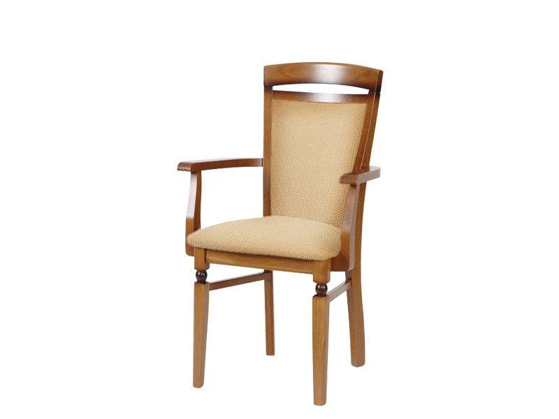 židle BAWARIA DKRS II P ořech č.612 (1010) standartní potah (s područemi)