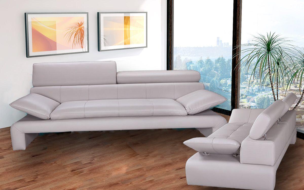 bílá sedací souprava 3+2 DALIANA LP