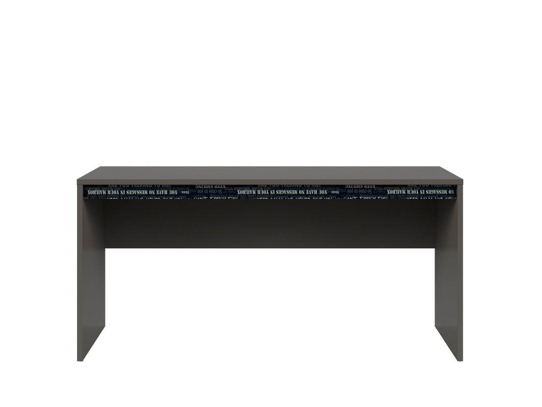 psací stůl GRAPHIC (S343) BIU/160 šedý wolfram