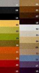 sk: 7 - MINEWA  - hnědá sedací souprava 3+1+1 DOLORES