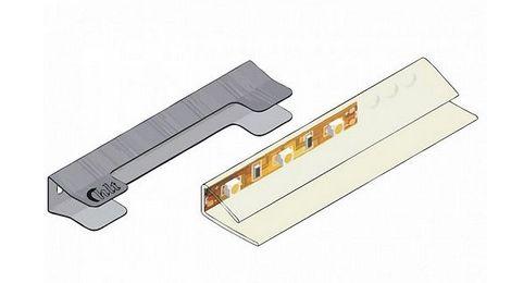 osvětlení KASPIAN osvětlení k REG1W2SL,P bílá ( univerzální ke všem barvám )