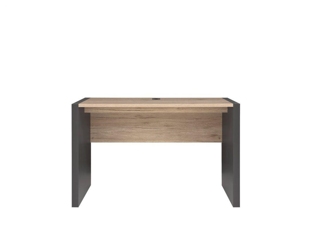 psací stůl EXECUTIVE BIU/120 šedý wolfram/dub san remo světlý