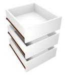 šuplík skř. COLIN SZUF šuplíky barva plátno ( 3ks ) ( F24)