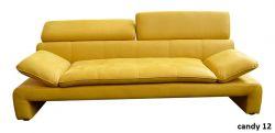 žlutá pohovka trojsed DALIANA MB