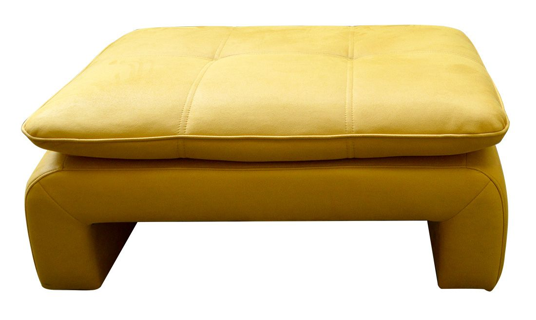 žlutý taburet DALIANA LP