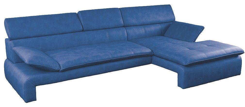 modrá rohová sedací souprava DALIANA LP