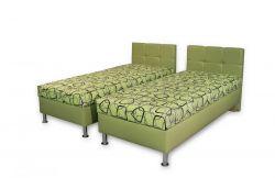 zelené dvoulůžko Dueto Mw