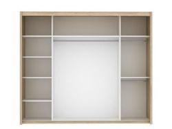 Inova Skříň 2 š.250 bílá Orf.