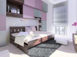 rozkládací buková postel Arleta HP