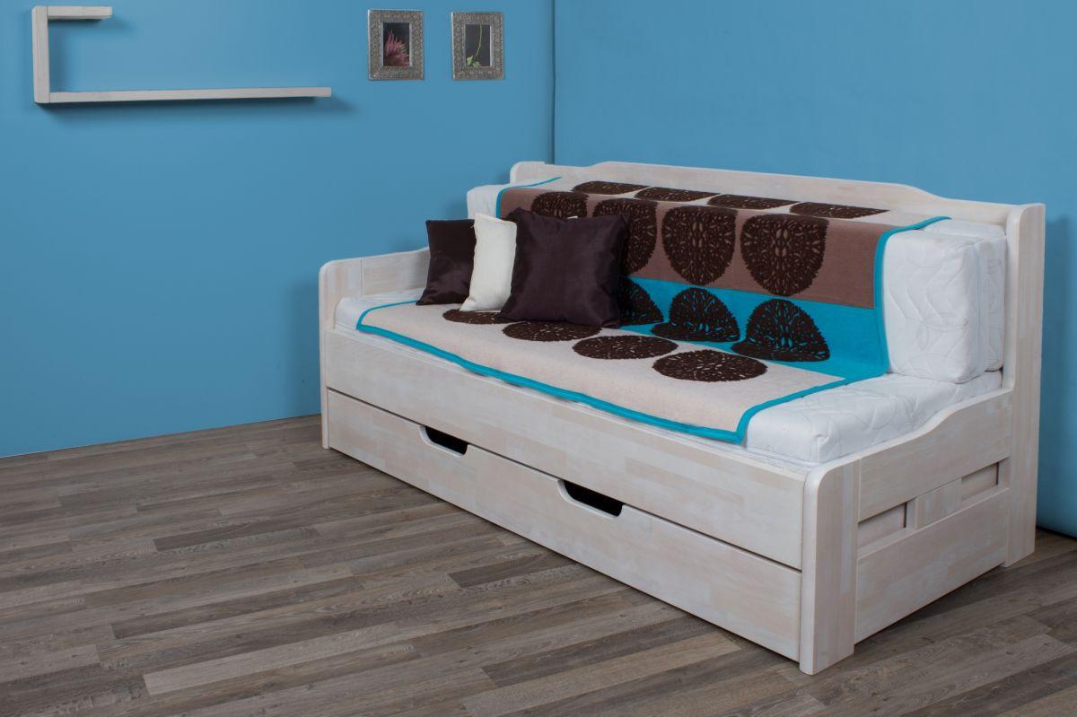 rozkládací buková postel Paris HP