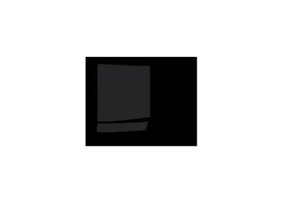dvířko skř. COLIN FRN/153 dvířko 1ks černý lesk (F24)