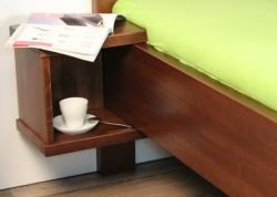 noční stolek Supra závěsný buk