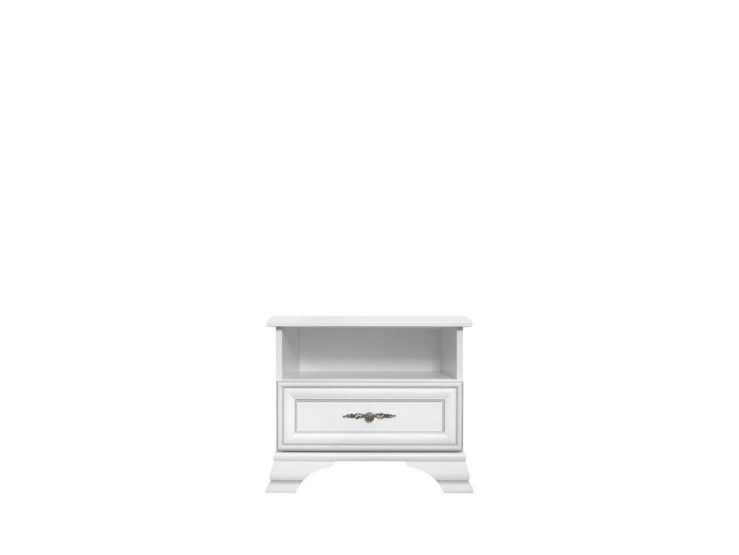 noční stolek IDENTO KOM1S bílá