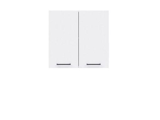 skříňka horní JUNONA G2D/60/57 bílá/bílý lesk