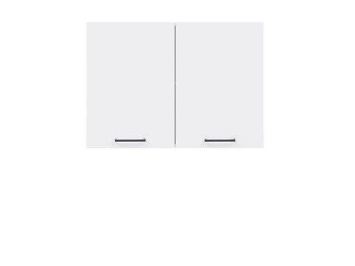 skříňka horní JUNONA G2D/80/57 bílá/bílý lesk