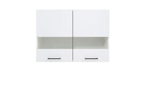 skříňka horní JUNONA G2W/80/57 bílá/bílý lesk