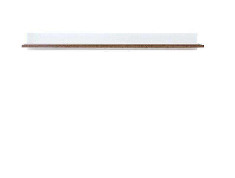 Heda Police POL/135, Bílá/modřín sibiu zlatý/bílý lesk