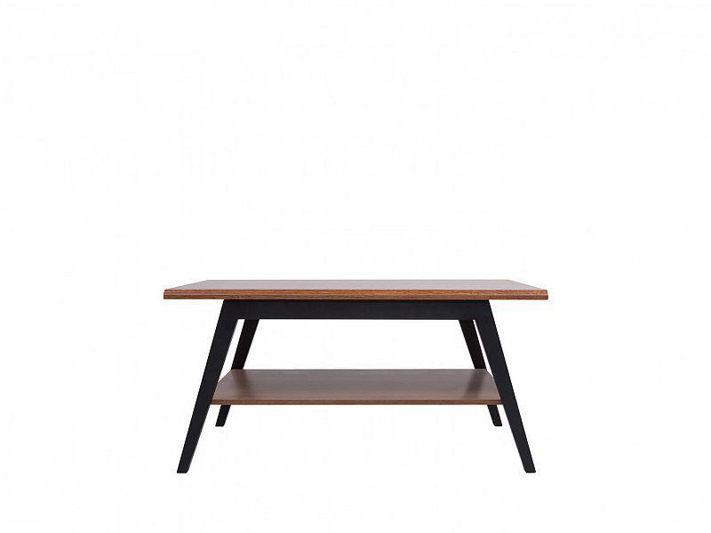 konferenční stolek MADISON LAWA, černá/dub braz