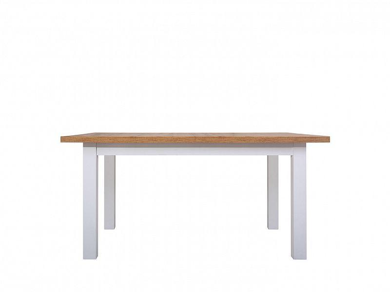 jídelní stůl rozkládací HOLTEN, STO dub woltan/bílá mat