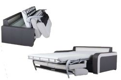modrá rohová sedací souprava na každodenní spaní DESTINE 140 MB