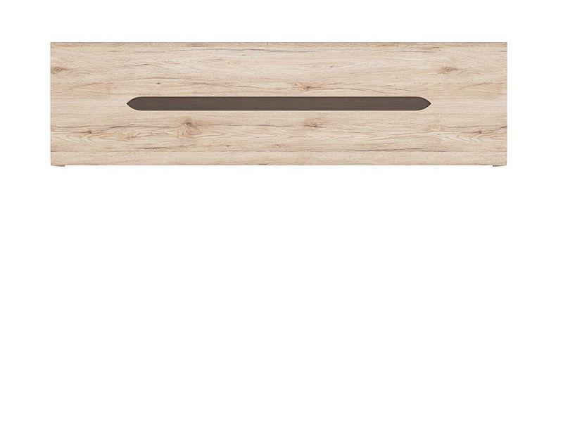 závěsná skříňka ELPASSO SFW1K Dub san remo světlý/dub wenge hnědý