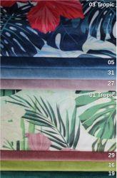 sk: 1 - KRONOS Tropic  - modrá rohová sedací souprava na každodenní spaní DESTINE 140