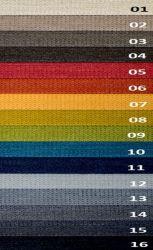sk: 2 - PHOENIX  - modrá rohová sedací souprava na každodenní spaní DESTINE 140