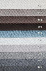 sk: 2 - VITON  - modrá rohová sedací souprava na každodenní spaní DESTINE 140