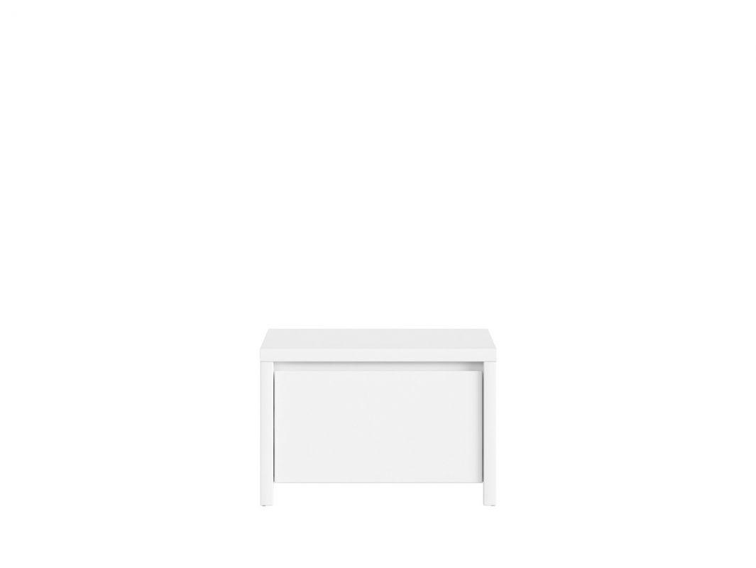 botník KASPIAN SBUT/60 bílá/bílá matná