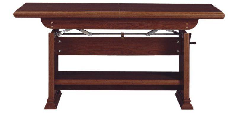 konferenční stolek KENT kaštan ELAST 130/170