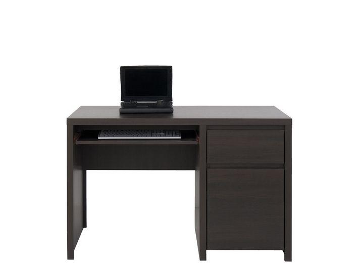 psací stůl KASPIAN BIU1D1S/120 wenge