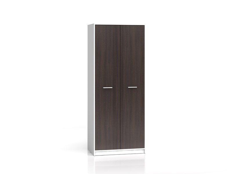 skříň NEPO SZF2D bílá/wenge