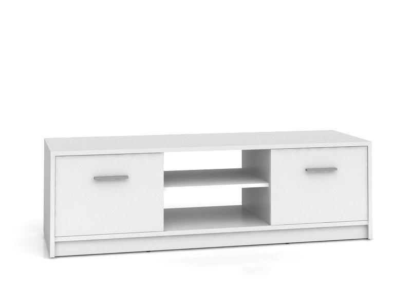 televizní stolek NEPO RTV2D bílá