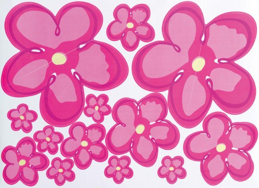 nálepky RINGO - nálepka květiny