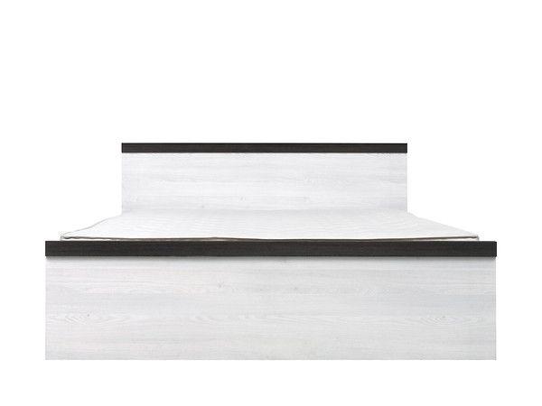 postel PORTO LOZ/160 BEZ ROŠTU modřín sibiu světlý
