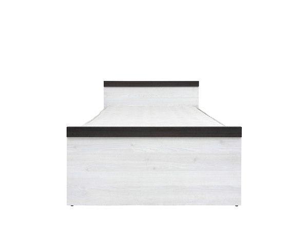postel PORTO LOZ/90 BEZ ROŠTU modřín sibiu světlý