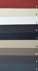 sk: 5 - BIZON  - červená rohová sedací souprava GALARDE