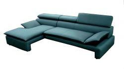 modrá rohová sedací souprava DALIANA